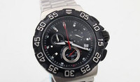ag batteries - Christmas Gift Hot Sale Quartz Men s Wristwatch Anolog Black Face Stainless Steel Band Aouaracef AG Meters Male Watch