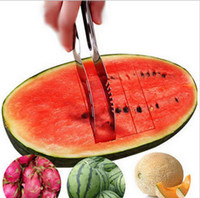 Wholesale Watermelon Slicer Stainless Steel Fruit Peeler Useful Smart Kitchen Gadget