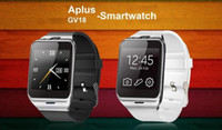 Wholesale 6260A Smartwatch Aplus Gv18 Bluetooth Health Mp3 Waterproof Pedometer Wearable Device With SIM Card Mobile GSM Android Smart Watch Phone