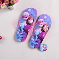 Wholesale 2016 Summer Cartoon Children s Slippers Fashion Kids Slippers Home Slippers Girls Beach Shoe Sandals For Girls Size TN5107