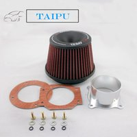 auto air filter kit - XH Apexi Universal Kits Auto Intake Air Filter mm Dual Funnel Adapter Useful Air Intake Filter