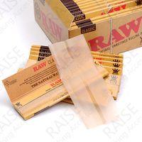 cigarette carton - Raw Premium Slim mm King Size Raw Classic Natural Unrefinded Clear Cigarette Rolling Paper DHL Carton