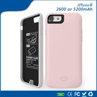 Wholesale ihpone6 jacket ultra thin ma or large capacity of mah battery has no chin apple s charging treasure back