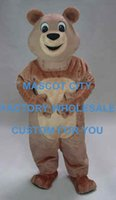 adult honey bear costume - Top Selling Honey Bear Mascot Costume Adult Size Mascotte Outfit Suit Party Carnival Fancy Dress SW513