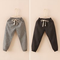 baby patch clothing - Girls Boys Clothing pants Baby Pants baby girl boy patch striped Harem pants pencil pants