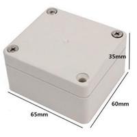 al por mayor electrical switch-3 PC 65x58x35mm impermeable plástico caja de conexión eléctrica conmutación caso de conexión VEC50 P50