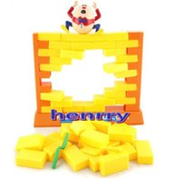 Wholesale Breaking down the game fun creative family games Educational toys board games push the wall knocking on the wall