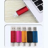 Wholesale New Metal OTG USB Flash Drive GB GB GB GB GB GB For Android Phone Memory Stick