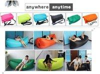 lamzac hangout rápido inflável sofá-cama de ar espreguiçadeira acampar KAISR praia Nylon tecido saco de dormir cama preguiçoso cadeira ao ar livre