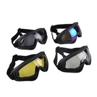 atv cycle sports - Original WOLFBIKE Outdoor Motorcycle Cycling Bicycle Bike ATV Motocross X400 Ski Snowboard Off road Goggles Sports Glasses New