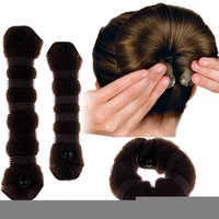 Wholesale Best Large small Set Fashion Magic Hair Styling Clip Accessory Maker Tool Bun Donut east