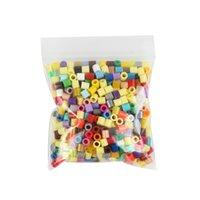 Wholesale per bag multicolor mm hama perler beads for kids DIY handmaking toy Intelligence Educational Toys fuse beads DIYFASHION