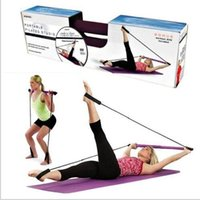 Wholesale Portable Empower Pilates Studio Empower Portable Pilates Studio with DVD and Workout Guide Yoga Yoga Stripes Exercise Fitness Supplies