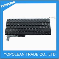 Wholesale Laptop IT Italy Keyboard For Apple Macbook Pro A1286 Keyboard Year Black Brand New