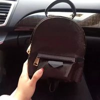 arriva ladies fashion - New arriva Cute Mini Bags Women packpack Genuine Leather fashion design mini backpacks embossing ladies phone bag