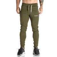 Wholesale Mens Tracksuit Bottoms Cotton Fitness Skinny Joggers Sweat Pants Pantalones Chandal Hombre Casual Pants