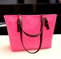 Wholesale Vintage Woman s Messenger Bag PU Leather Bag Shoulder Bag Korean Handbag Colors Factory price DHL