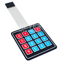 Wholesale matrix keyboard matrix keypad keyboard membrane switch Microprocessor control panel