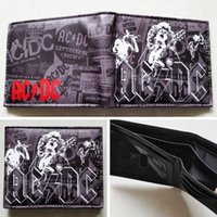 ac dc wallet - music purse Music Band AC DC Band ACDC LOGO wallets Purse Multi Color cm Leather W256 music purse