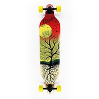 Wholesale quot Sector Drop Through Pumping Slid Custom Maple Platinum SEEKER Longboard Skateboards Cheap Skateboard