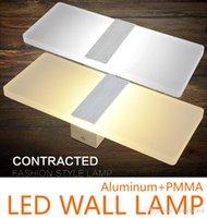 Wholesale Fashion furniture W LED Wall Lamps for bedside lights night lights simple design LED indoor lights