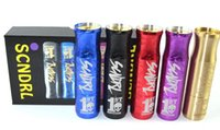 aluminum competitions - Scndrl mod clone crazy selling copper brass aluminum scoundrel mod SCNDRL competition Mod clone