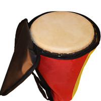 Wholesale inches waterproof color stitching Djembe drum soft gig bag case tambourine cover durable thick backpack thin package