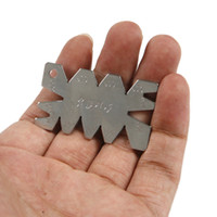 angle steel cutting tools - Stainless Steel Screw Thread Cutting Angle Gage Gauge Measuring Model Tool