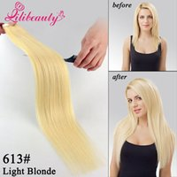 Wholesale 9A Tape In Hair Extensions set Tape Hair Human Hair Skin Weft quot Double Sided Tape Extensions Promotion