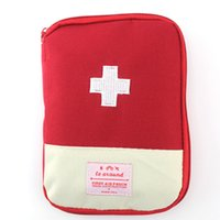 Wholesale Indoor Car Medical Bag For Survival Outdoor First Aid Kit Bag Emergency Treatment Pack Travel Car Sport Rescue Medical Tools