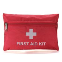 Wholesale 20Sets First Aid Kit For Outdoor Travel Sports Emergency Survival Indoor Or Car Treatment Pack Bag L168