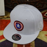 baseball cap captain - Adult Captain America Baseball Cap Hip Hop hat men and women