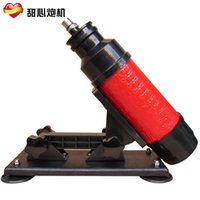Cheap Newest Automatic Fucking Machine Cannon Gun Masturbation Devices For Male And Female Vibrator Adjustable Speeds Machine Gun Sex Toy DHL