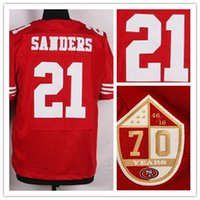 Wholesale new season New Player SADERS Elite Football Jerseys with the th anniversary Patch Football Wear Shirts top Cheap Football Jerseys Tops
