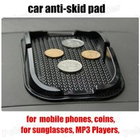 Wholesale Holds Objects on DashProof Anti Skid Sticky Pad Non Slip Car Interior Mat Holder for mobile phones coins MP3 Players W044