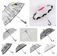 Wholesale Fashion Rain Umbrella D Birdcage Pattern Apollo umbrella Princess Women Rain Umbrellas Long Handle umbrellas Cage Design