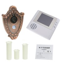Wholesale 2GB Digital Door Peephole Video Doorbell M Night Vision Video Record Home Security