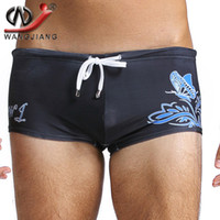 active white board - Print Swimming Shorts WJ Mens Swimsuits Surf Board Beach Leisure Swim Suits S M L XL Swimming Trunks Brand