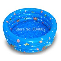 Wholesale J Ghee New Beach Inflatable Kids Children Swimming Pool Toddler Baby Swim Pool Piscine Inflatable Air Mattress Piscina Inflavel Swim Ring