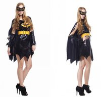 batwoman costume - Halloween cosplay clothing adult woman perfomance dress batman cosplay costumes halloween costumes batwoman
