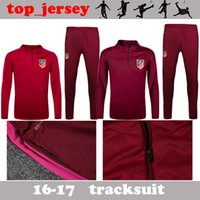 Wholesale Atl madrid tracksuits F TORRES GRIEZMANN GODIN best quality long sleeve tracksuit training atl madrid jacket kit