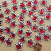 Wholesale 2016 new mm plum flower shape acrylic rhinestones jewelry apparel DIY accessories crafts loose diamonds Z002