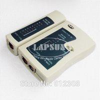 Wholesale 10 in RJ45 RJ11 RJ12 CAT5 LAN Network Tool Kit Set Bag Cable Tester Connector Crimp Crimper Plug Plier Wire Cutter Screwdriver