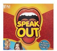 Wholesale 2016 Speak Out Game KTV party entertainment toy for fun newest best selling toy DHL