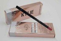 Wholesale HOT NEW Kylie jenner Velvetine Matte Lipstick Lip Pencil color High quality