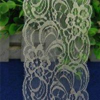 Wholesale 50 yards mm width white Gorgeous Cheap Lace Trim Ribbon DIY Garment Accessories L818 M62605