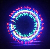 Wholesale New Motorcycle Accessories Colorful Bicycle Bike Motorcycle Cycling Wheel Spoke Light LED pattern Waterproof Motorcycle Decoration