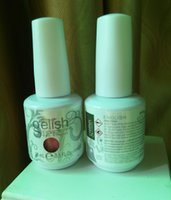 arts color names - The newest Top quality Harmony gelish polish LED UV nail art gel ML COLORS nail polish gel with color name