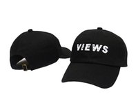 Wholesale 2016 new black DRAKE VIEWS ovo god cap Panel snapback Baseball hat drake know yourself dad caps woes owl too late casqutette