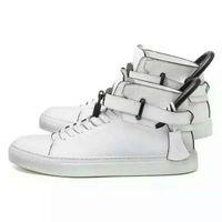 basketball locks - fashion Luxury brand Outdoor men sports shoes basketball shoes running shoes sneakers Black White Men Lock Flats Men s Casual Shoe